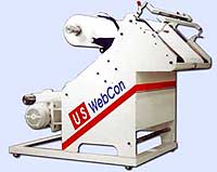 narrow web inspection winder with slitting and edge guiding