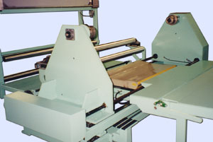 lift table used to load a center winder